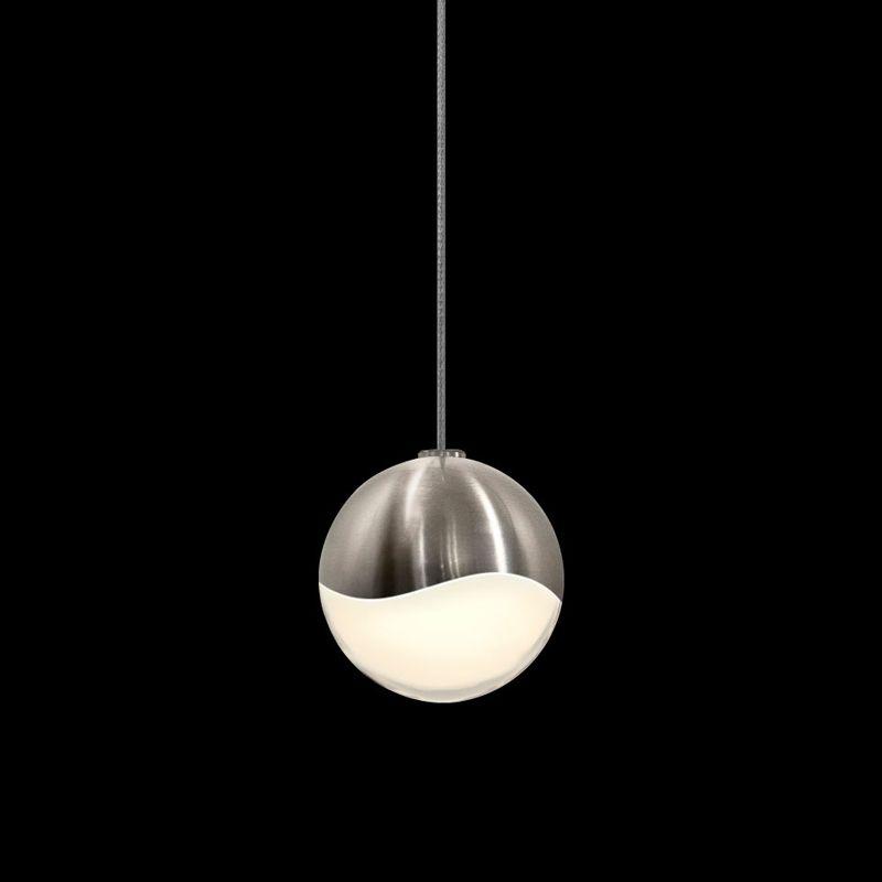 Sonneman 2912-SML Grapes 1 Light LED Pendant Satin Nickel Indoor