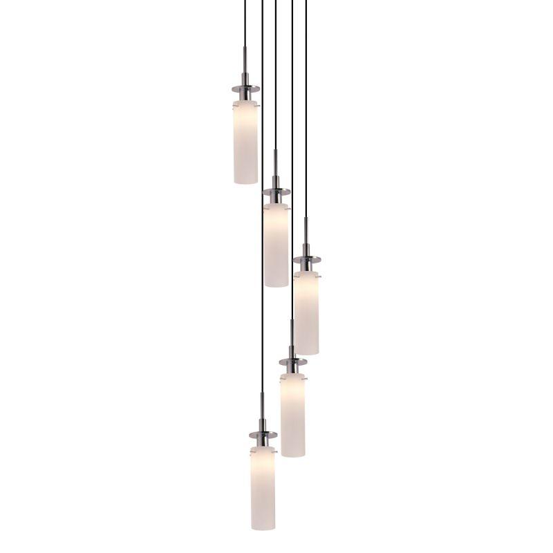 Sonneman 3035.01 Polished Chrome Contemporary Candle Pendant