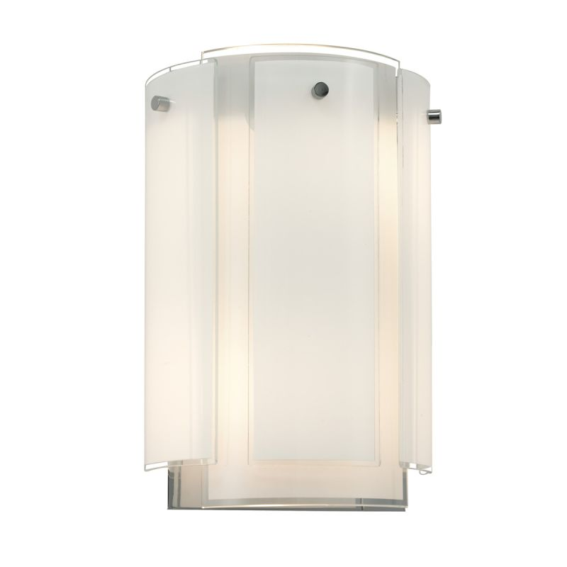 Sonneman 3180.01 Polished Chrome Contemporary Velo Wall Sconce
