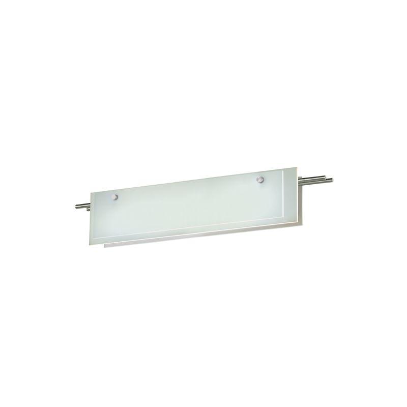"""Sonneman 3213LED Suspended Glass Slim 28"""" LED Bathroom Vanity Strip"""