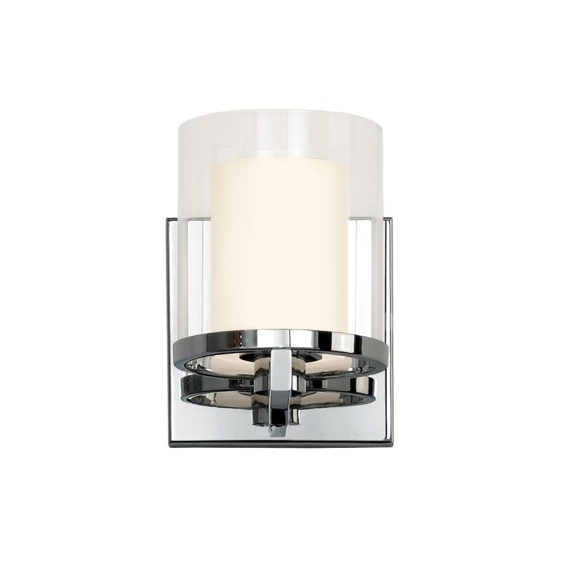 Sonneman 3410.01 Polished Chrome Contemporary Votivo Wall Sconce