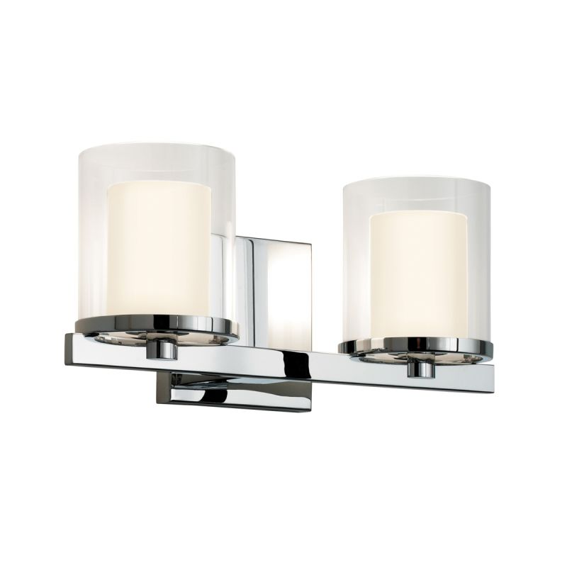 Sonneman 3412.01 Polished Chrome Contemporary Votivo Wall Sconce