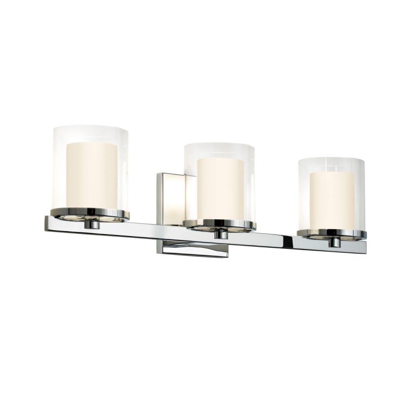Sonneman 3413.01 Polished Chrome Contemporary Votivo Bathroom Light