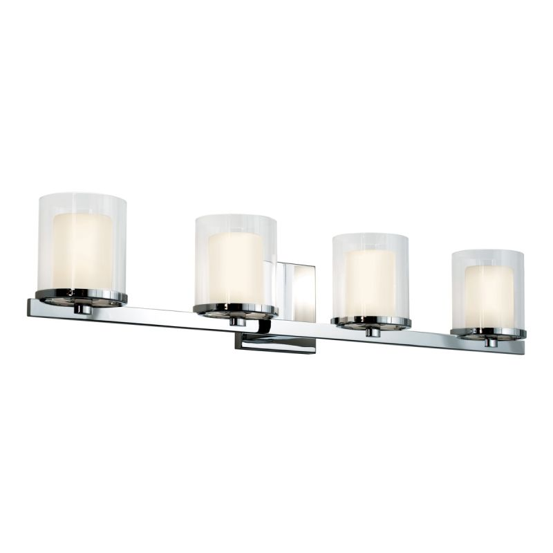 Sonneman 3414.01 Polished Chrome Contemporary Votivo Bathroom Light