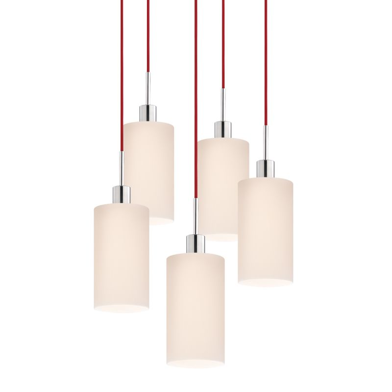 Sonneman 3560-5 Glass Pendants 5 Light Pendant with White Shade Sale $1310.00 ITEM: bci2276649 ID#:3560.01R-5 UPC: 872681049957 :