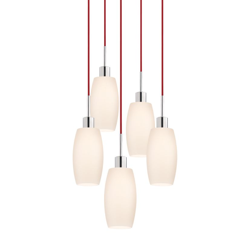 Sonneman 3561-5 Glass Pendants 5 Light Pendant with White Shade Sale $1310.00 ITEM: bci2276655 ID#:3561.01R-5 UPC: 872681049995 :