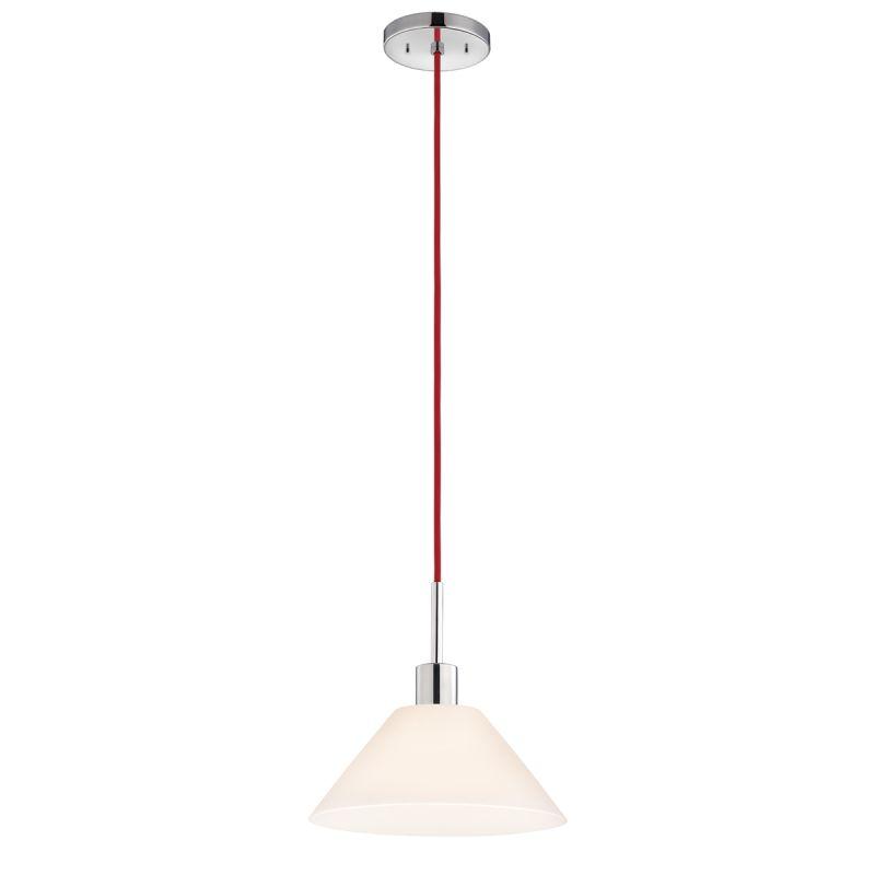 Sonneman 3563 Glass Pendants 1 Light Pendant with White Shade Polished Sale $250.00 ITEM: bci2276663 ID#:3563.01R UPC: 872681049834 :