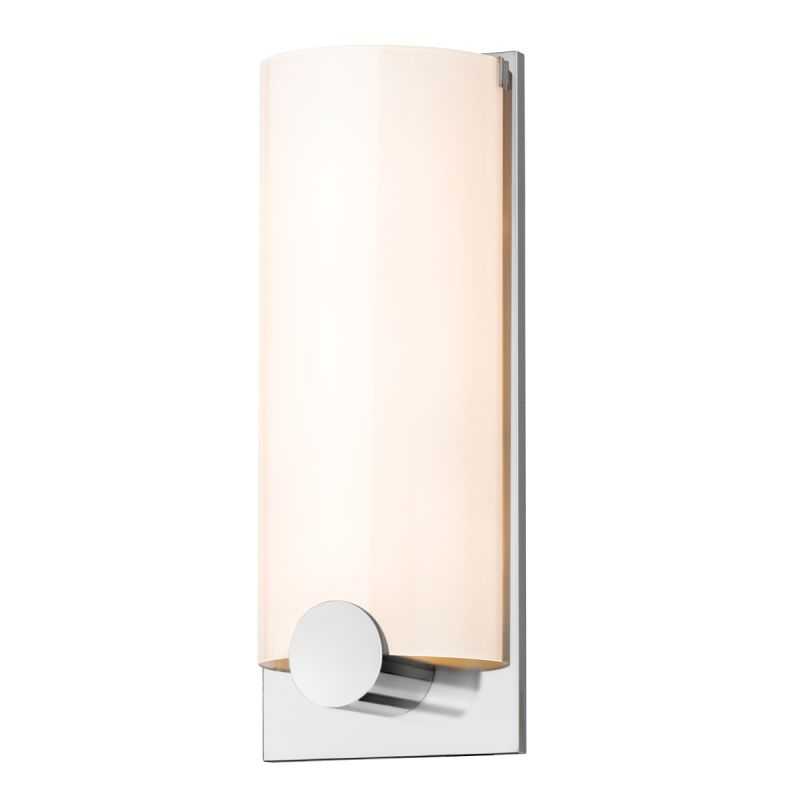 Sonneman 3663.01 Polished Chrome Contemporary Tangent Wall Sconce