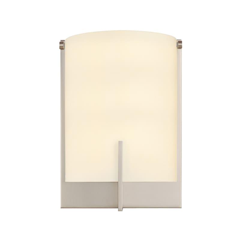 Sonneman 3671.13F Satin Nickel Contemporary Arc Edge Wall Sconce