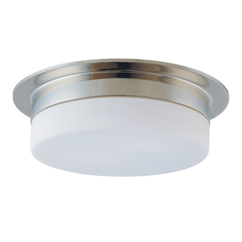 Sonneman 3743 Flange 3 Light Flushmount Ceiling Fixture with Etched