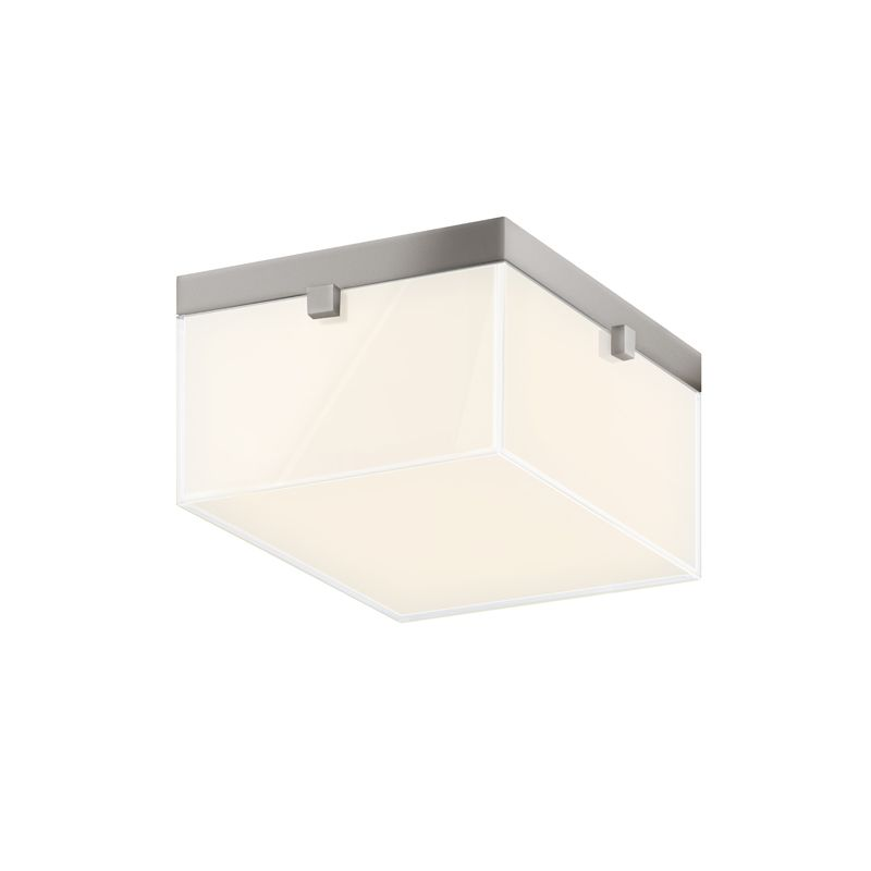 Sonneman 3867LED Parallel LED Flushmount Ceiling Fixture with Mitered Sale $790.00 ITEM: bci2406068 ID#:3867.13LED UPC: 872681057648 :