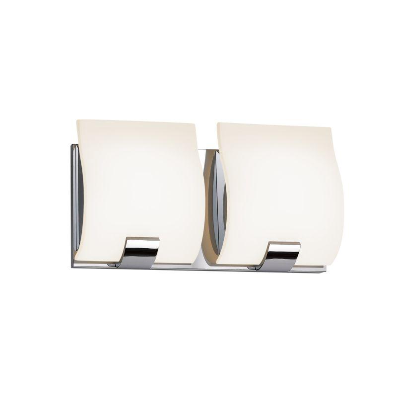 Sonneman 3882.01 Polished Chrome Contemporary Aquo Bathroom Light