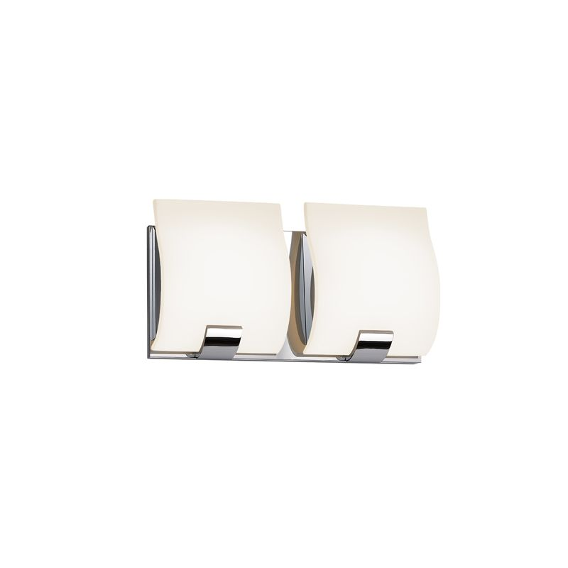 Sonneman 3882LED Aquo 2 Light ADA Compliant LED Bathroom Vanity Strip