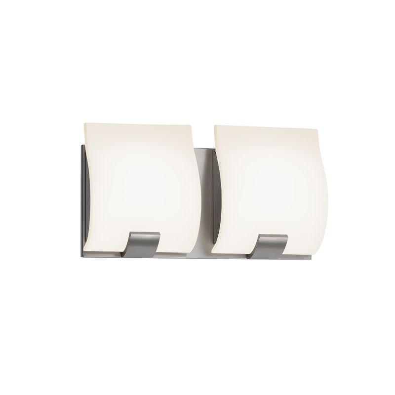 Sonneman 3882LED Aquo 2 Light ADA Compliant LED Bathroom Vanity Strip Sale $390.00 ITEM: bci2406283 ID#:3882.13LED UPC: 872681055651 :