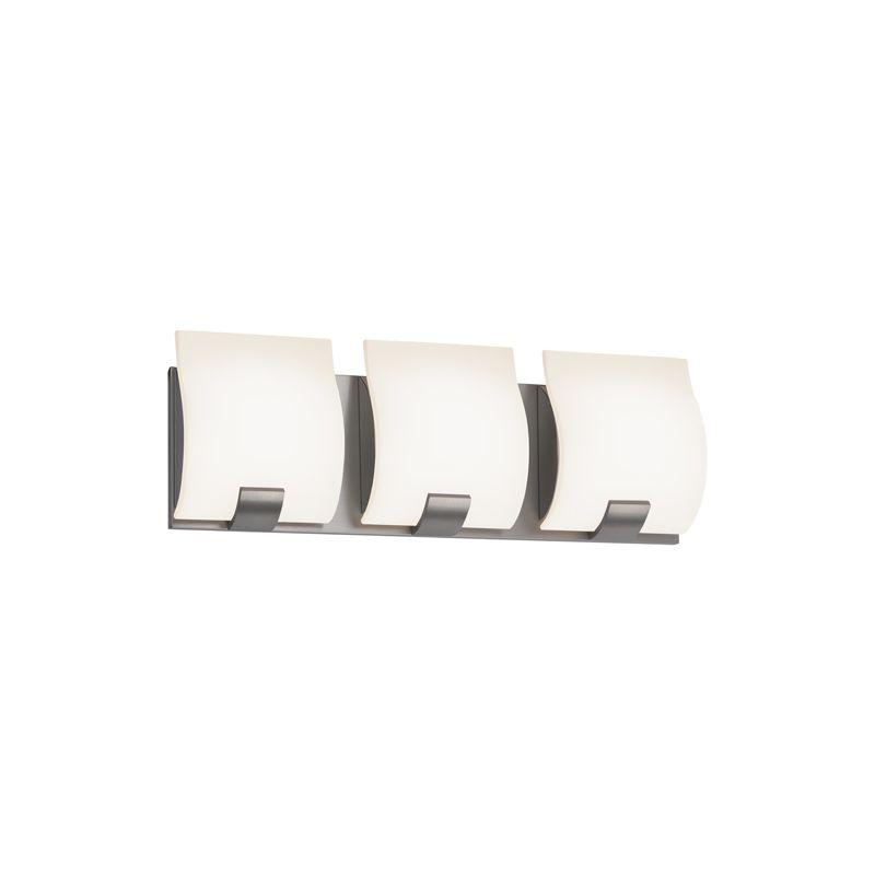 Sonneman 3883LED Aquo 3 Light ADA Compliant LED Bathroom Vanity Strip