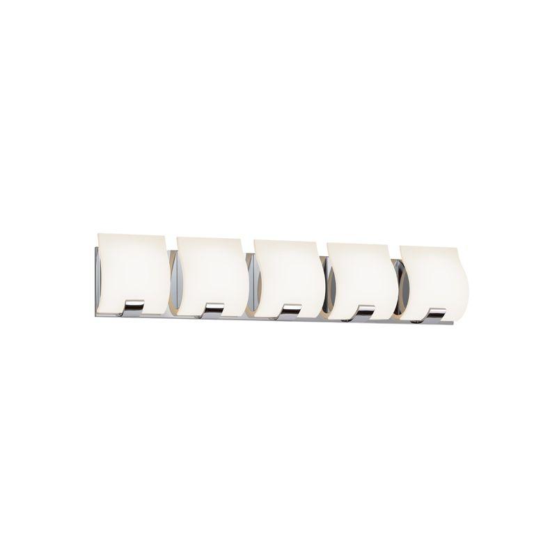 Sonneman 3885LED Aquo 5 Light ADA Compliant LED Bathroom Vanity Strip