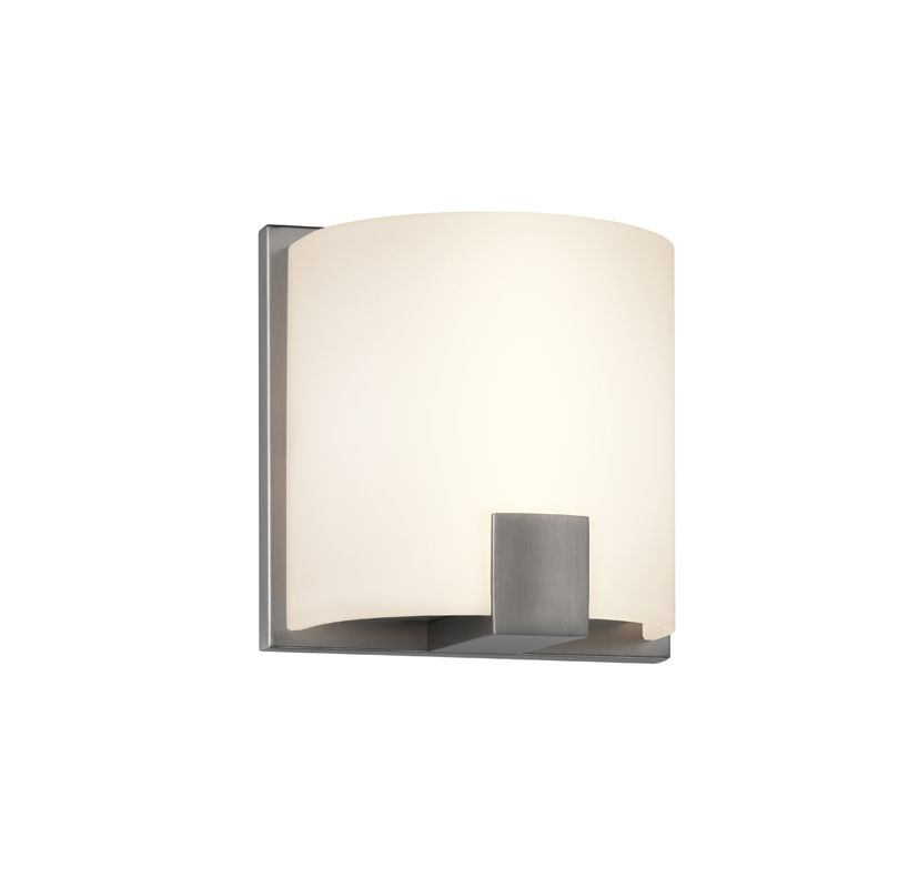 Sonneman 3891LED C-Shell 1 Light ADA Compliant LED Wall Sconce with