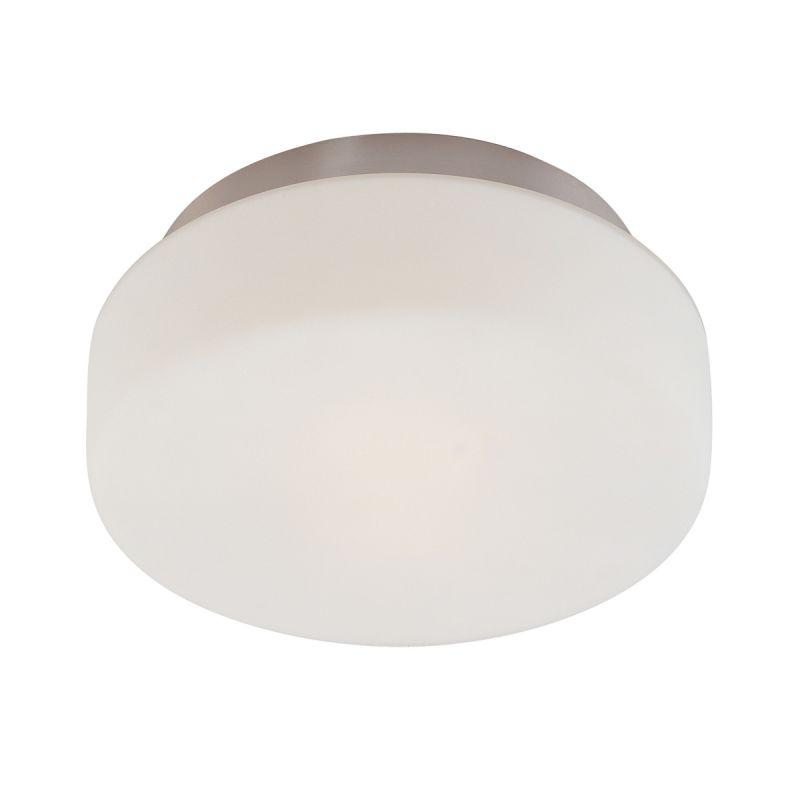 Sonneman 4158 Pan 2 Light Semi-Flush Ceiling Fixture with Etched White