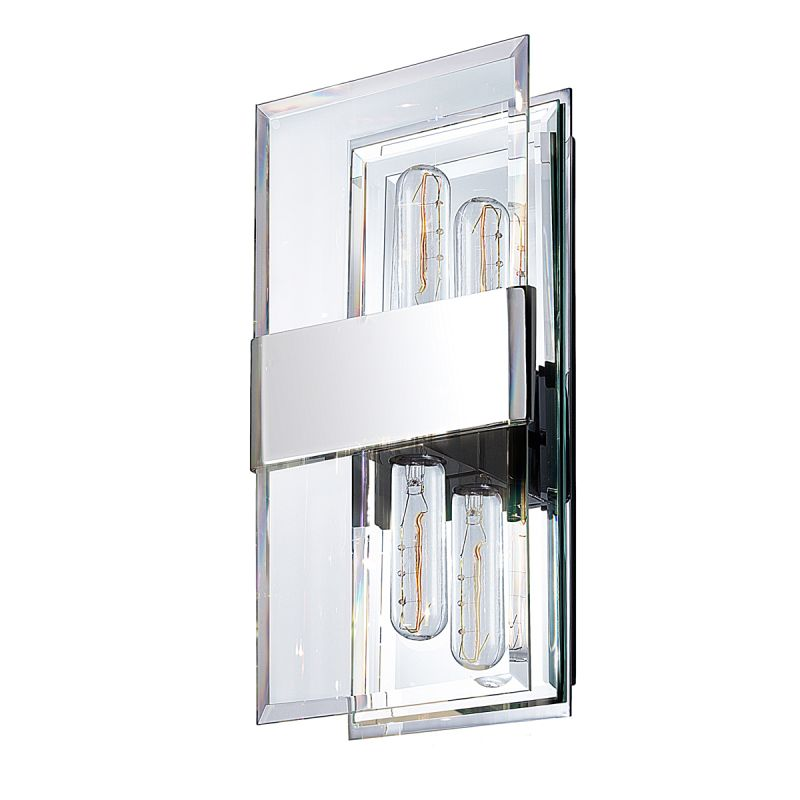 Sonneman 4282.01 Polished Chrome Contemporary Mercer Wall Sconce