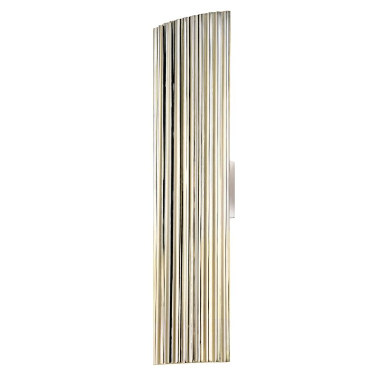 Sonneman 4622.35 Polished Nickel Contemporary Paramount Wall Sconce