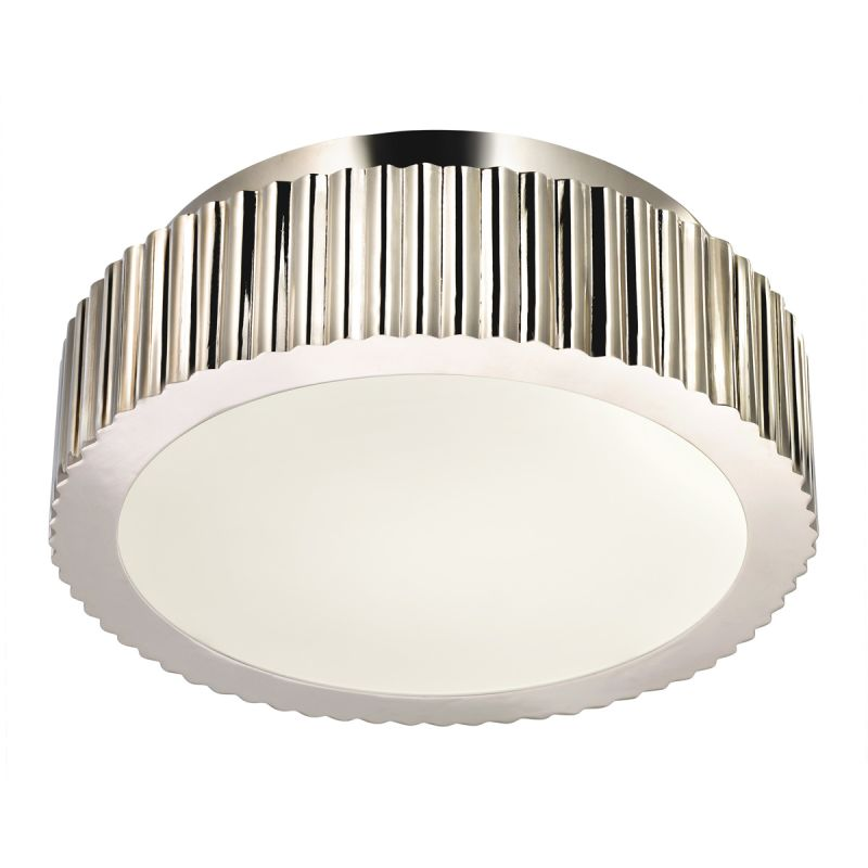 Sonneman 4628.35 Polished Nickel Contemporary Paramount Ceiling Light