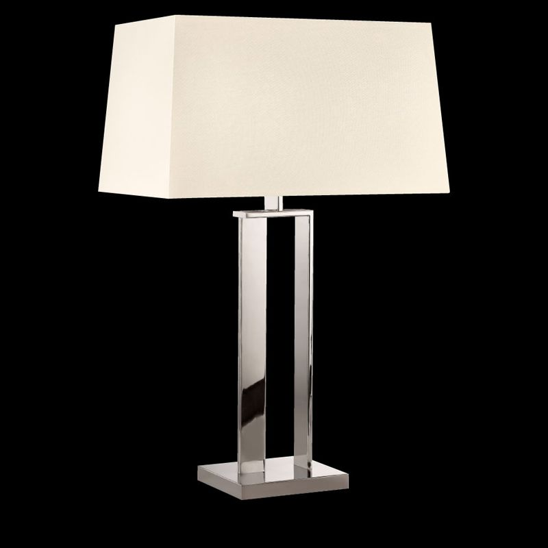Sonneman 4690 D-Lamp 2 Light Table Lamp with Linen Shade Polished Sale $530.00 ITEM: bci2655516 ID#:4690.35 UPC: 872681062581 :