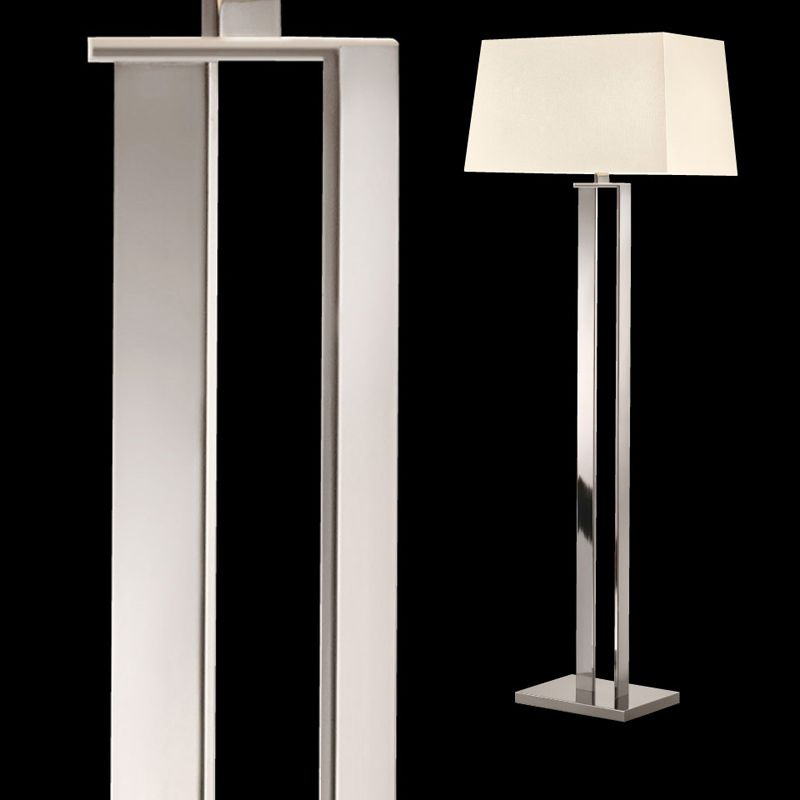 Sonneman 4692 D-Lamp 2 Light Floor Lamp with Linen Shade Polished Sale $790.00 ITEM: bci2655518 ID#:4692.35 UPC: 872681062604 :