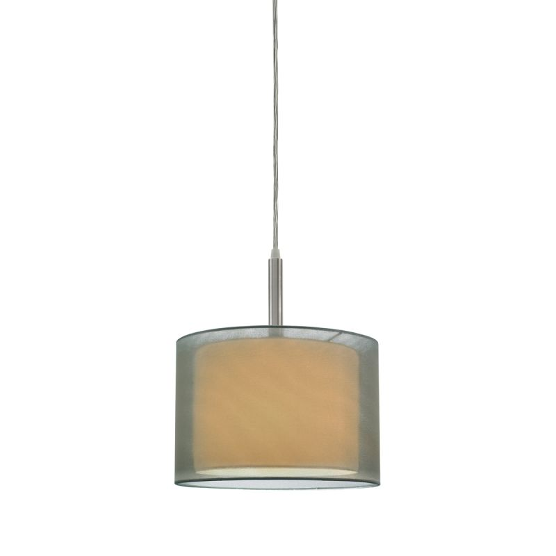 Sonneman 6008.13F Satin Nickel Contemporary Puri Pendant