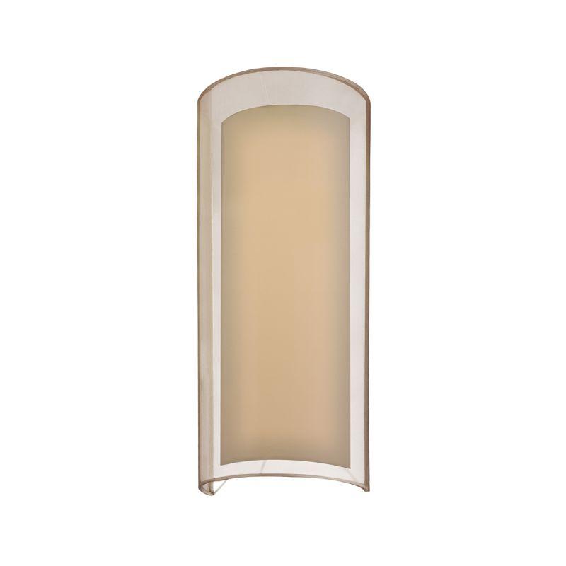 Sonneman 6017F Puri 2 Light ADA Compliant Wall Sconce with Organza