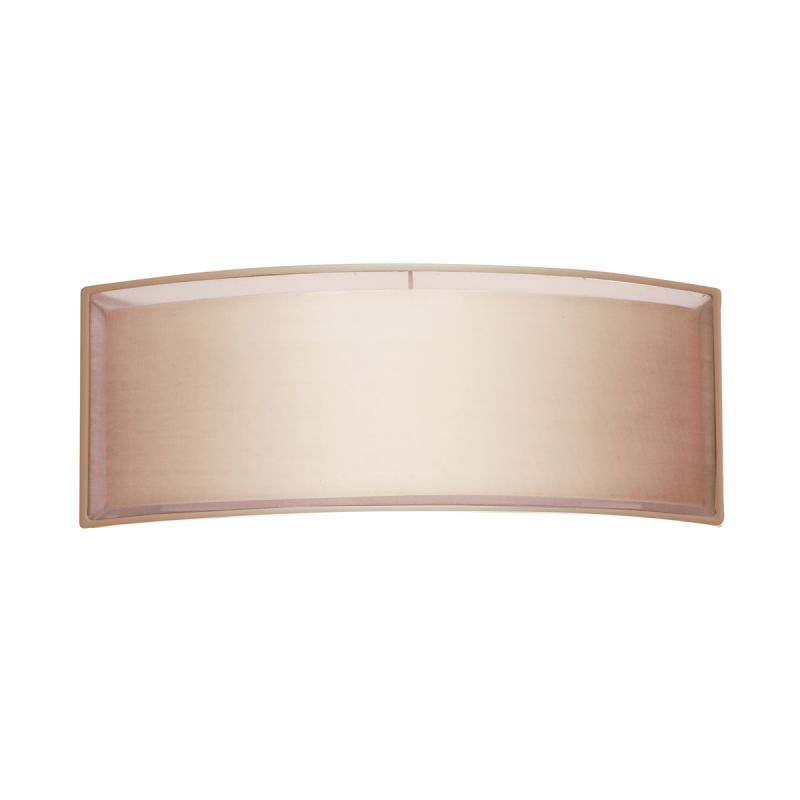Sonneman 6018F Puri 2 Light ADA Compliant Wall Sconce with Organza