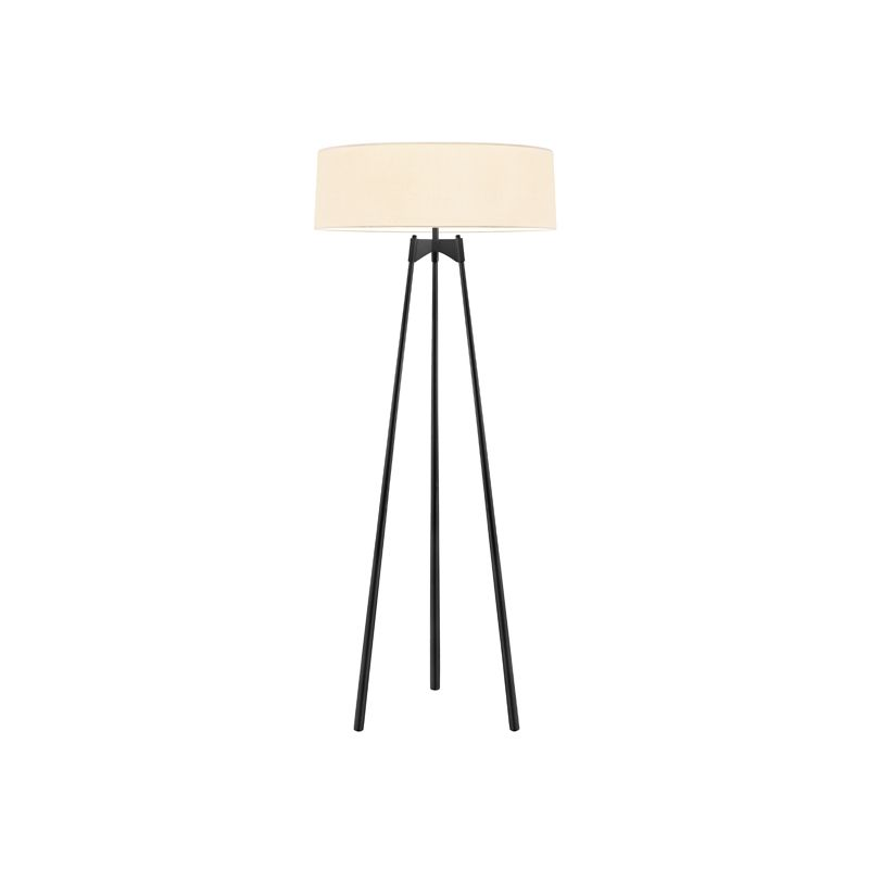 Sonneman 6170 Torii 3 Light Floor Lamp with Cream Shade Satin Black Sale $950.00 ITEM: bci2406318 ID#:6170.25 UPC: 872681056146 :