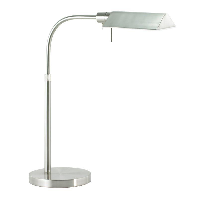 Sonneman 7004 Tenda 1 Light Swing Arm Desk Lamp Satin Nickel Lamps