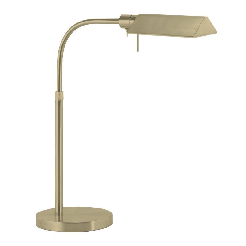Sonneman 7004 Tenda 1 Light Swing Arm Desk Lamp Satin Brass Lamps