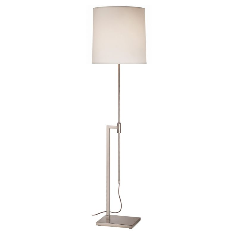 Sonneman 7008 Palo 1 Light Floor Lamp with Cream Shade Satin Nickel Sale $400.00 ITEM: bci524258 ID#:7008.13 UPC: 872681009111 :