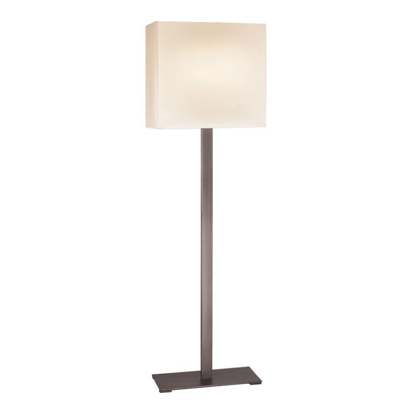 Sonneman 7023F Mitra 2 Light LED Floor Lamp with Cream Shade Black