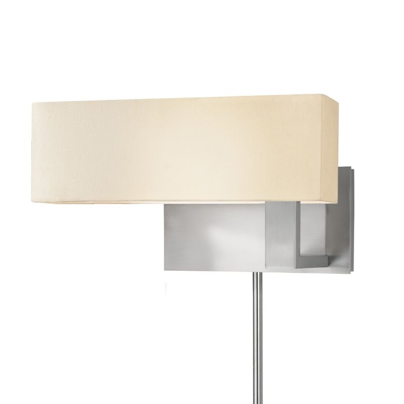 Sonneman 7026F Mitra 1 Light LED Wall Sconce with Cream Linen Shade