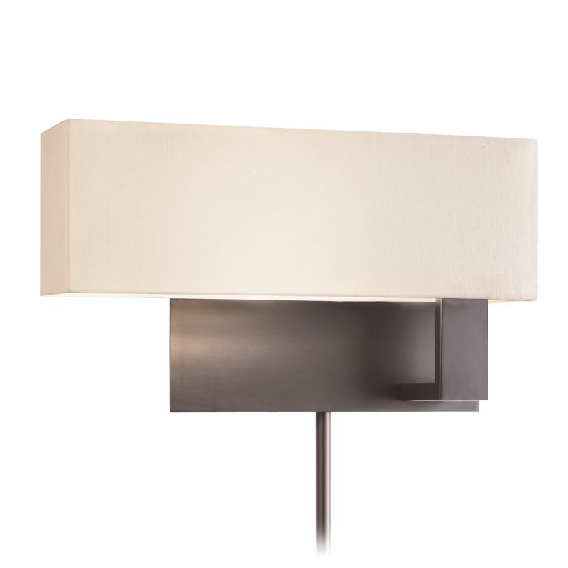 Sonneman 7027F Mitra 1 Light LED Wall Sconce with Cream Linen Shade