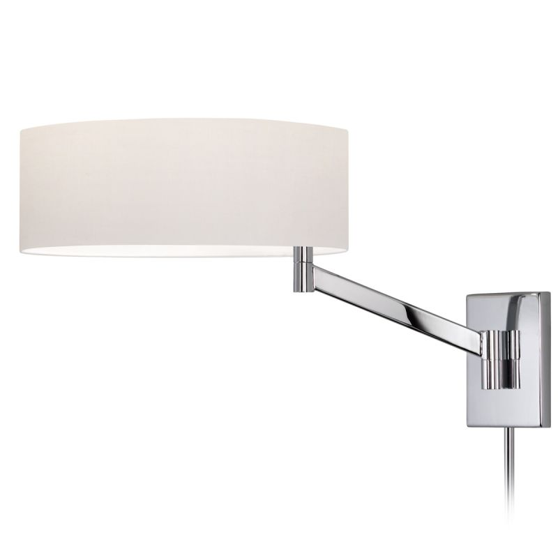 Sonneman 7080.01 Polished Chrome Contemporary Perch Wall Sconce