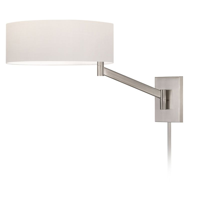 Sonneman 7080.13 Satin Nickel Contemporary Perch Wall Sconce