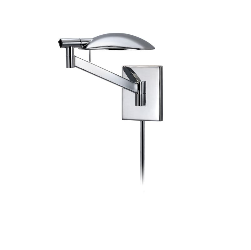 Sonneman 7085.01 Polished Chrome Contemporary Perch Wall Sconce