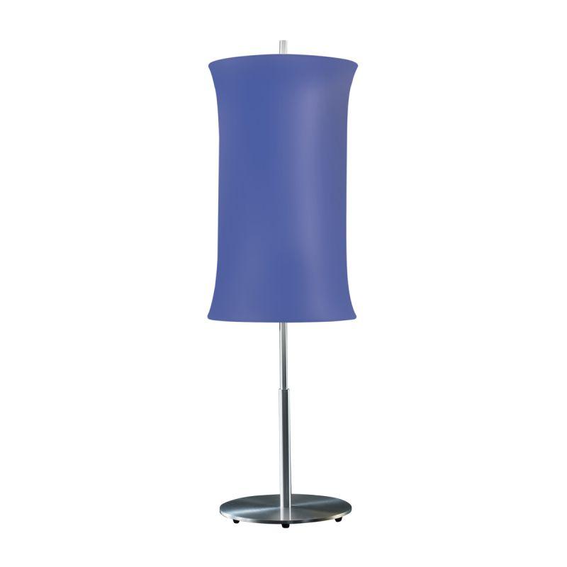 """Sonneman 3131.10 Lightweights 2 Light 33"""" Height Table Lamp Blue Shade"""