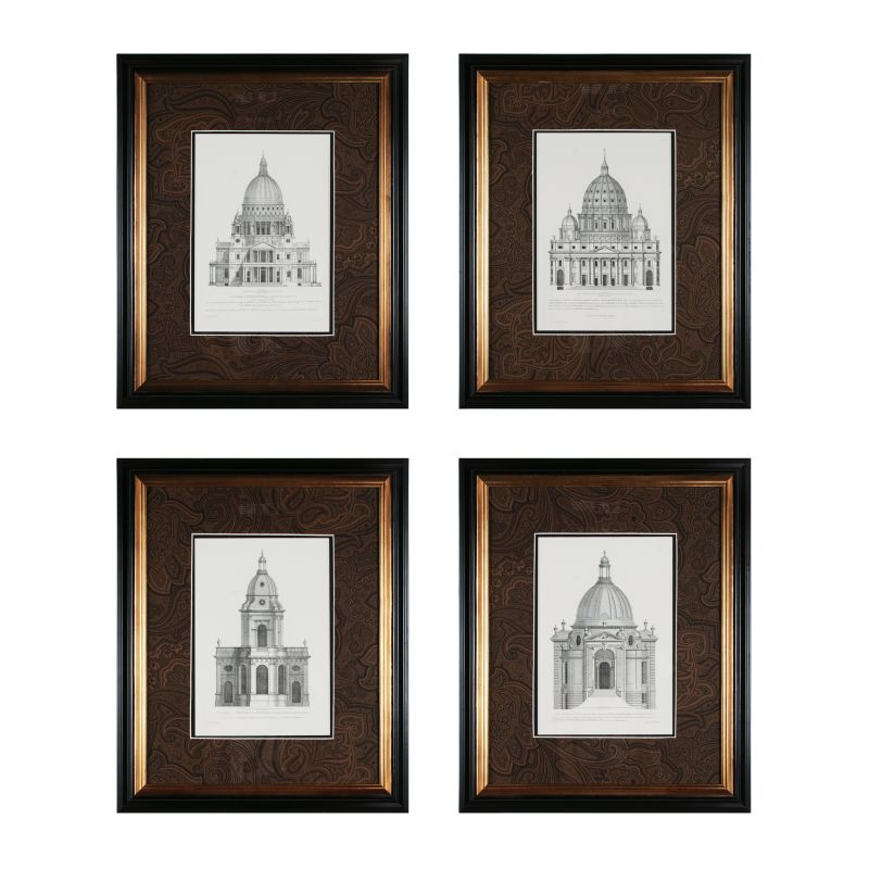 "Sterling Industries 10019-S4 28"" Height Domes Wall Art Domes Home"