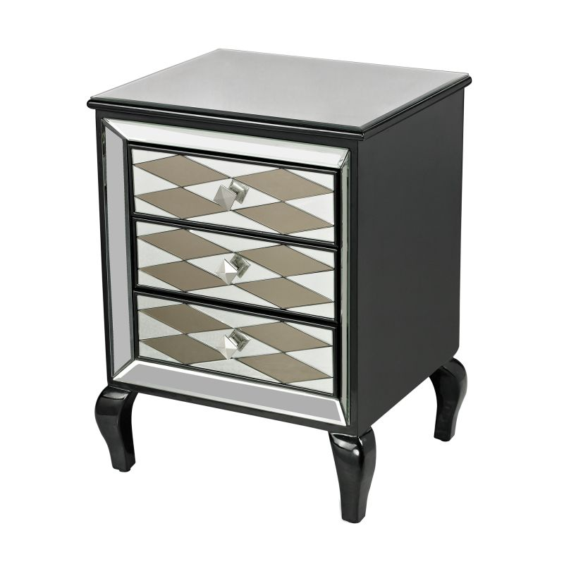 Sterling Industries 114-148 Black Diamond Dresser Clear and Smoked Sale $698.00 ITEM: bci2619554 ID#:114-148 UPC: 843558130696 :