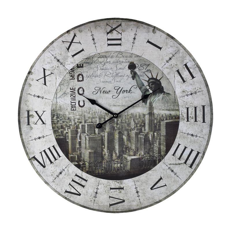 "Sterling Industries 118-037 24"" Height New York New York Clock Multi"