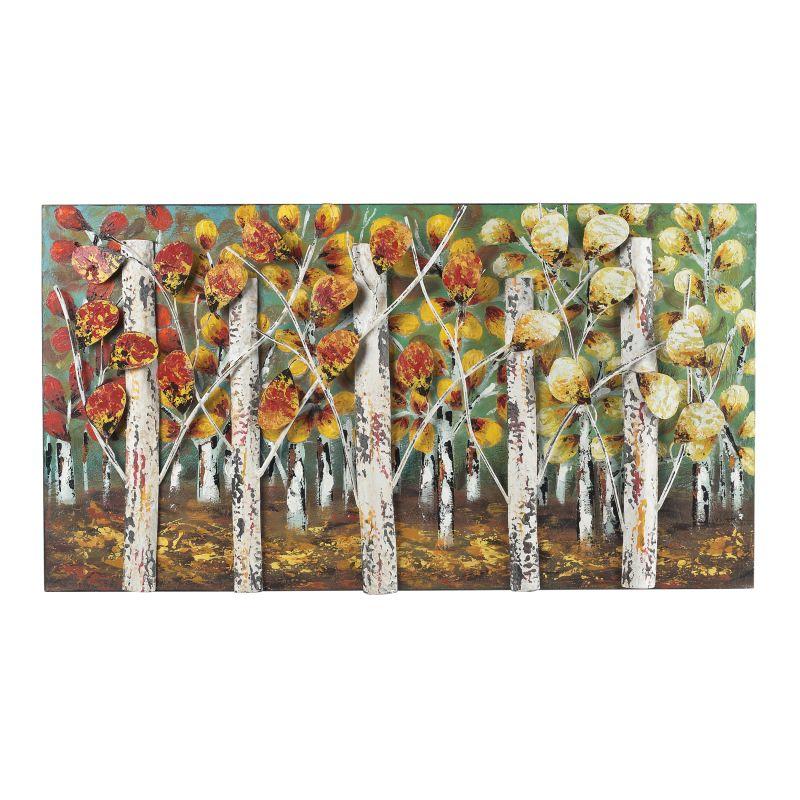 "Sterling Industries 129-1107 20"" x 37"" Metal Art - Autumn Birch Hand"