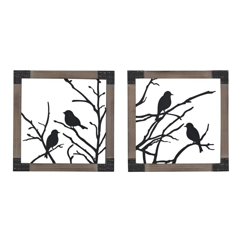 Sterling Industries 137-018/S2 Ollerton Birds On A Branch In Natural