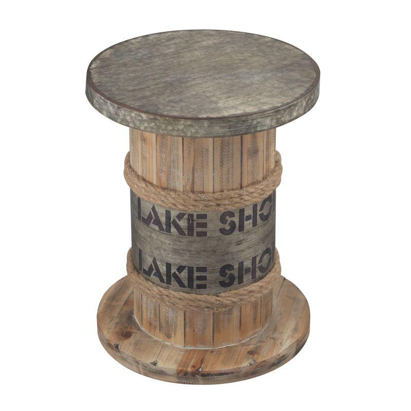Sterling Industries 138-033 Lake Shore Lake Shore Stool Washed Pine