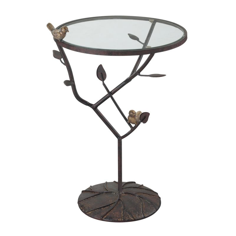 Sterling Industries 138-054 Kimberly Birds On A Branch Accent Table