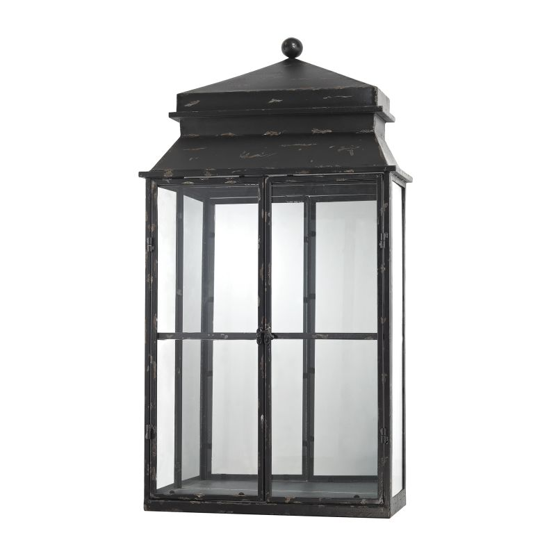 Sterling Industries 138-174 Mirrored Display Cabinet Antique Black Sale $278.00 ITEM: bci2619811 ID#:138-174 UPC: 843558131457 :