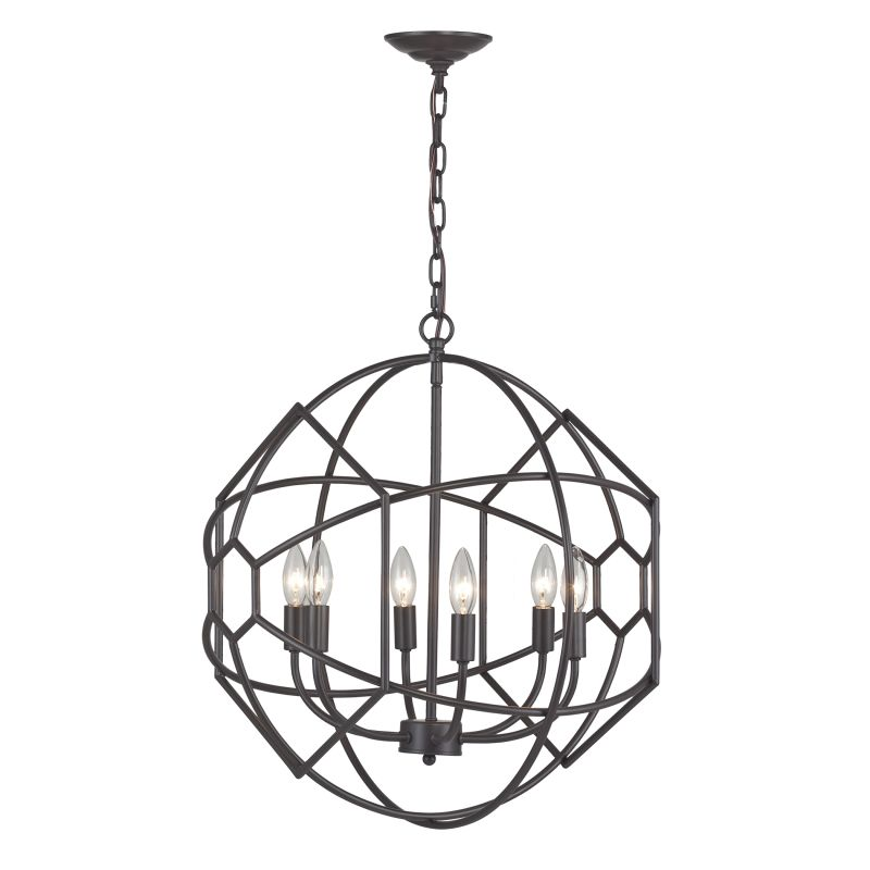 Sterling Industries 140-005 Strathroy 6 Light 1 Tier Chandelier Aged Sale $368.00 ITEM: bci2679397 ID#:140-005 UPC: 843558081585 :